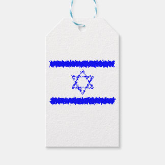 Flags Israel Blue Country ギフトタグ