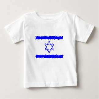 Flags Israel Blue Country ベビーTシャツ