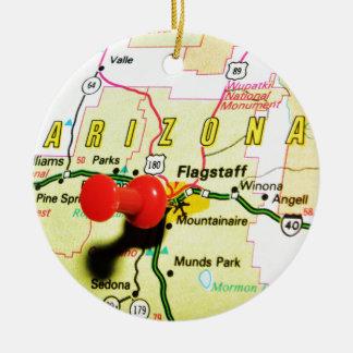 Flagstaff、アリゾナ セラミックオーナメント
