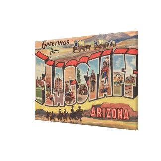 Flagstaff、アリゾナ-大きい手紙場面 キャンバスプリント