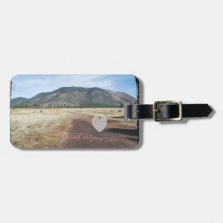 Flagstaff AZの荷物のラベル ラゲッジタグ