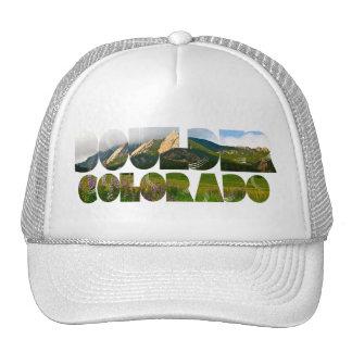 Flaironsの大きい石コロラド州 キャップ