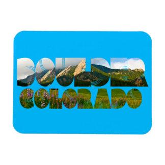 Flaironsの大きい石コロラド州 マグネット