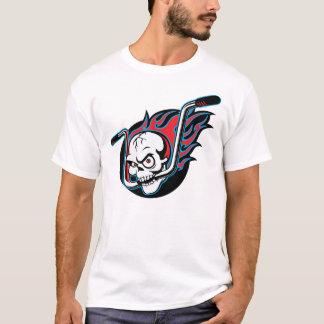 Flaminのスカル(白い) Tシャツ