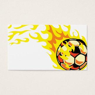 Flaminの」サッカーボール 名刺