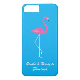 FlamingleのiPhone 7のプラスの場合に独身の及び準備ができた iPhone 8 Plus/7 Plusケース