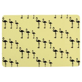 Flamingo Invasion Funky Floor Mat フロアマット