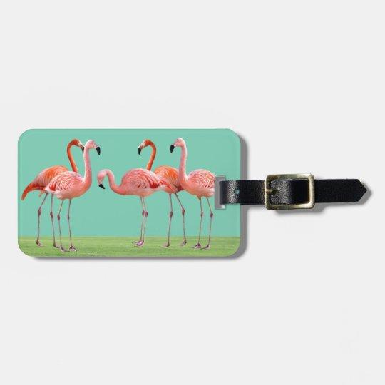 Flamingos ラゲッジタグ