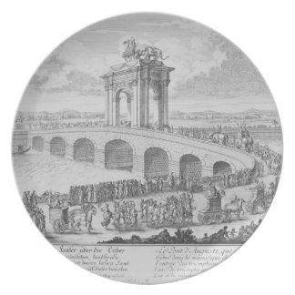 FlaminiaによるAugustusの橋、リミニの近くで、I プレート
