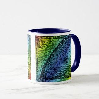 Flammarionの天国および地球の版木、銅版、版画のアートワーク マグカップ