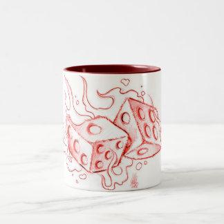 flammingサイコロ ツートーンマグカップ