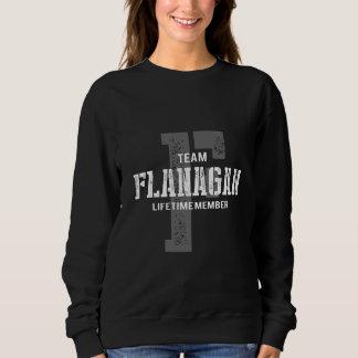 FLANAGANのためのおもしろいなヴィンテージのスタイルのTシャツ スウェットシャツ