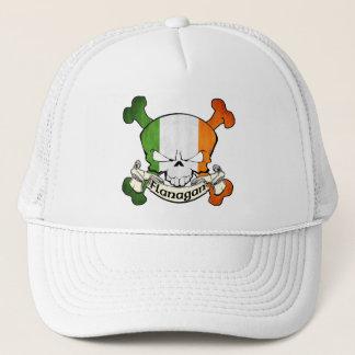 Flanaganのアイルランド人のスカル キャップ