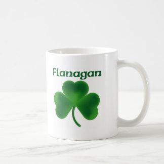 Flanaganのシャムロック コーヒーマグカップ