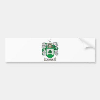FLANAGANの家紋- FLANAGANの紋章付き外衣 バンパーステッカー