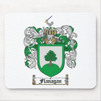 FLANAGANの家紋- FLANAGANの紋章付き外衣 マウスパッド
