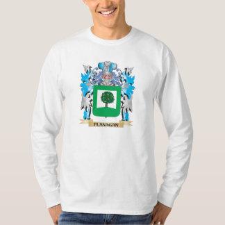 Flanaganの紋章付き外衣-家紋 Tシャツ
