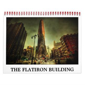 FLATIRONの建物のカレンダー カレンダー