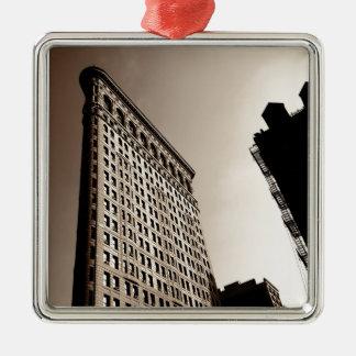 Flatironの建物-クラシックなニューヨークシティ メタルオーナメント