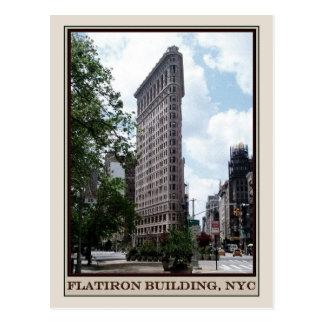 Flatironの建物、NYC ポストカード