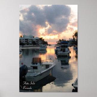 Flattsの入口-バミューダ島 ポスター