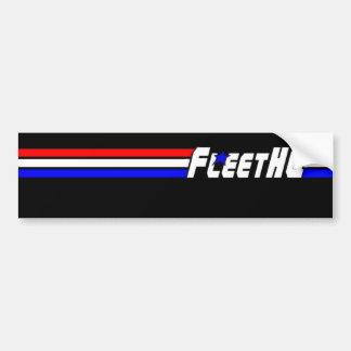 FLEETHQ バンパーステッカー