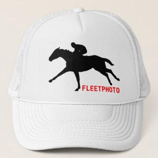 Fleetphotoのロゴの帽子 キャップ