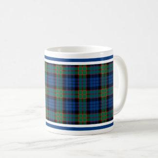 Fletcherの一族のタータンチェック コーヒーマグカップ