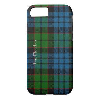 Fletcherの伝統的なタータンチェック格子縞のiPhone 7の場合 iPhone 8/7ケース