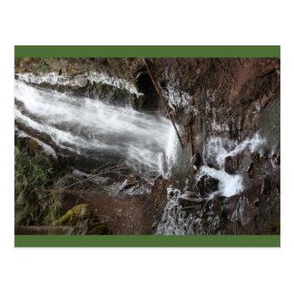 Fletcherの滝、紀元前に、カナダの郵便はがき ポストカード