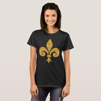 Fleur de Gold Tシャツ