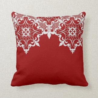 Fleur De Lace Redのの枕 クッション