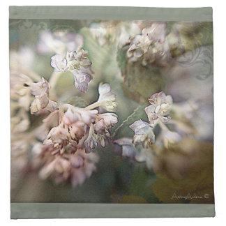 「Fleurette」の植物の布ナプキン、four.lkのセット ナプキンクロス
