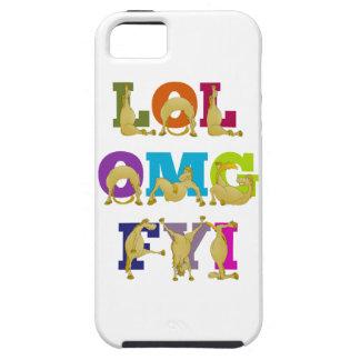 Flexiの子馬LOL FYI OMG iPhone SE/5/5s ケース