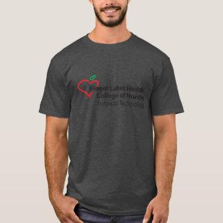 FLHCON Surgの技術のTシャツの木炭メンズ Tシャツ