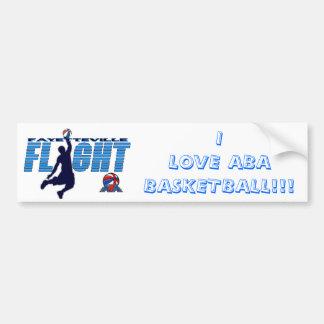FLIGH I愛ABAバスケットボールのバンパー バンパーステッカー