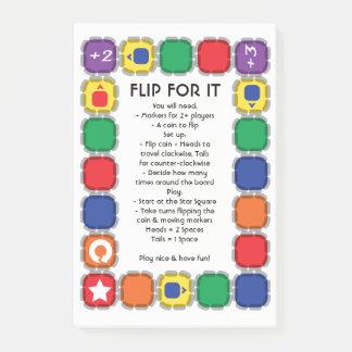 Flip For It Desk Game ポストイット