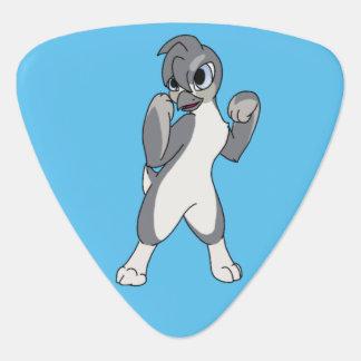 Flipperedの白いペンギン ギターピック