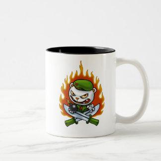 Flippy炎の入れ墨のマグ ツートーンマグカップ