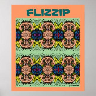 Flizzipポスター ポスター