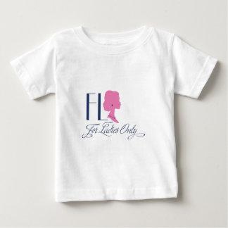FLOのロゴ ベビーTシャツ