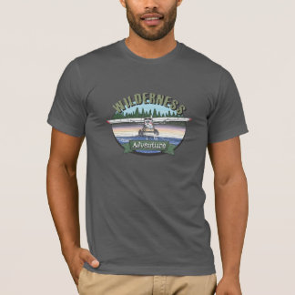Floatplaneの航空荒野の冒険 Tシャツ