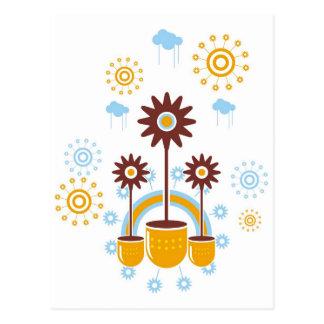flor ポストカード