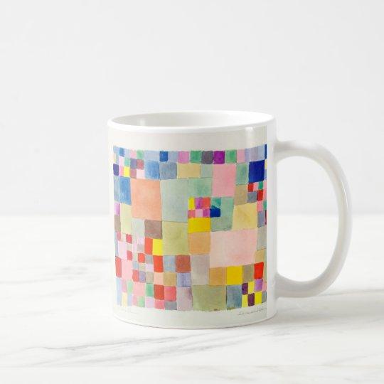 Flora on sand , Paul Klee コーヒーマグカップ