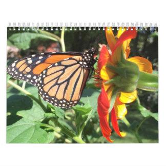 floral calendar カレンダー