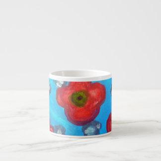 Floral Mug小型軽い女性 エスプレッソカップ