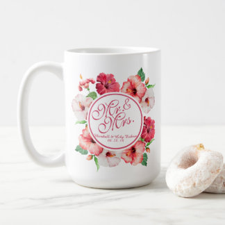 Floral Wedding Classic Mug氏及び夫人 コーヒーマグカップ