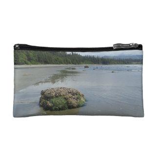 Florencia湾のビーチ1 コスメティックバッグ