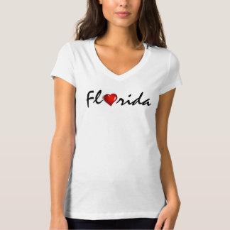 Florida Heart Hurricane Irma Support Shirt Tシャツ