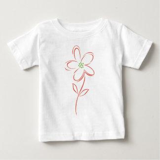 flower ベビーTシャツ
